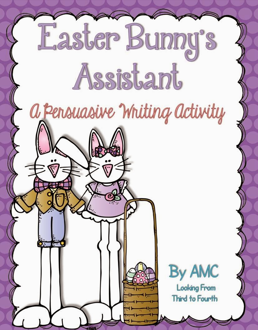 http://www.teacherspayteachers.com/Product/Easter-Bunnys-Assistant-A-Persuasive-Writing-Activity-1184716