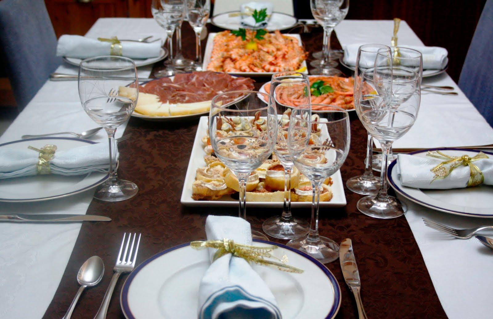 La cocina de maricarmen vestir la mesa para fin de a o for Menu de fin de ano en casa