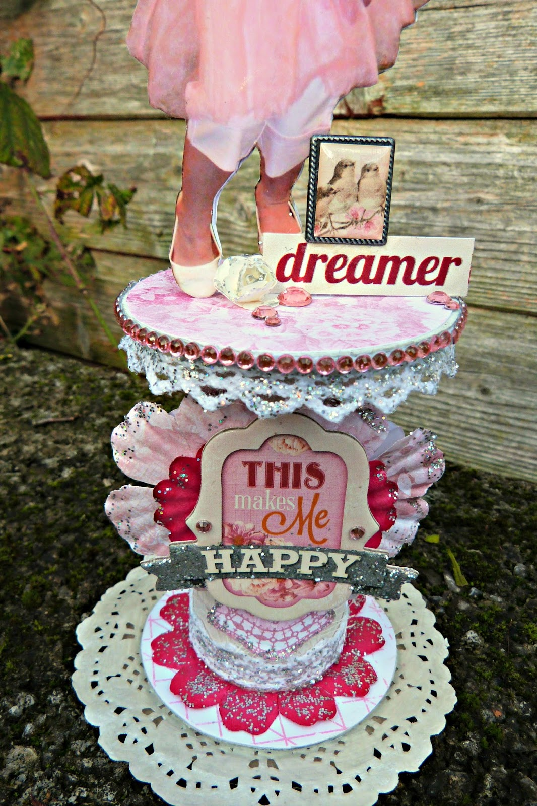 Dreamer Altered Spool by Tracee Provis Madeline Bo Bunny 02