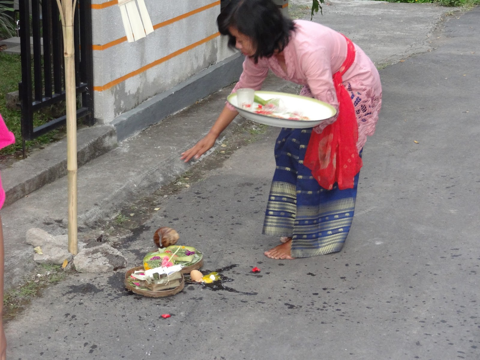 Ritual outside of the home