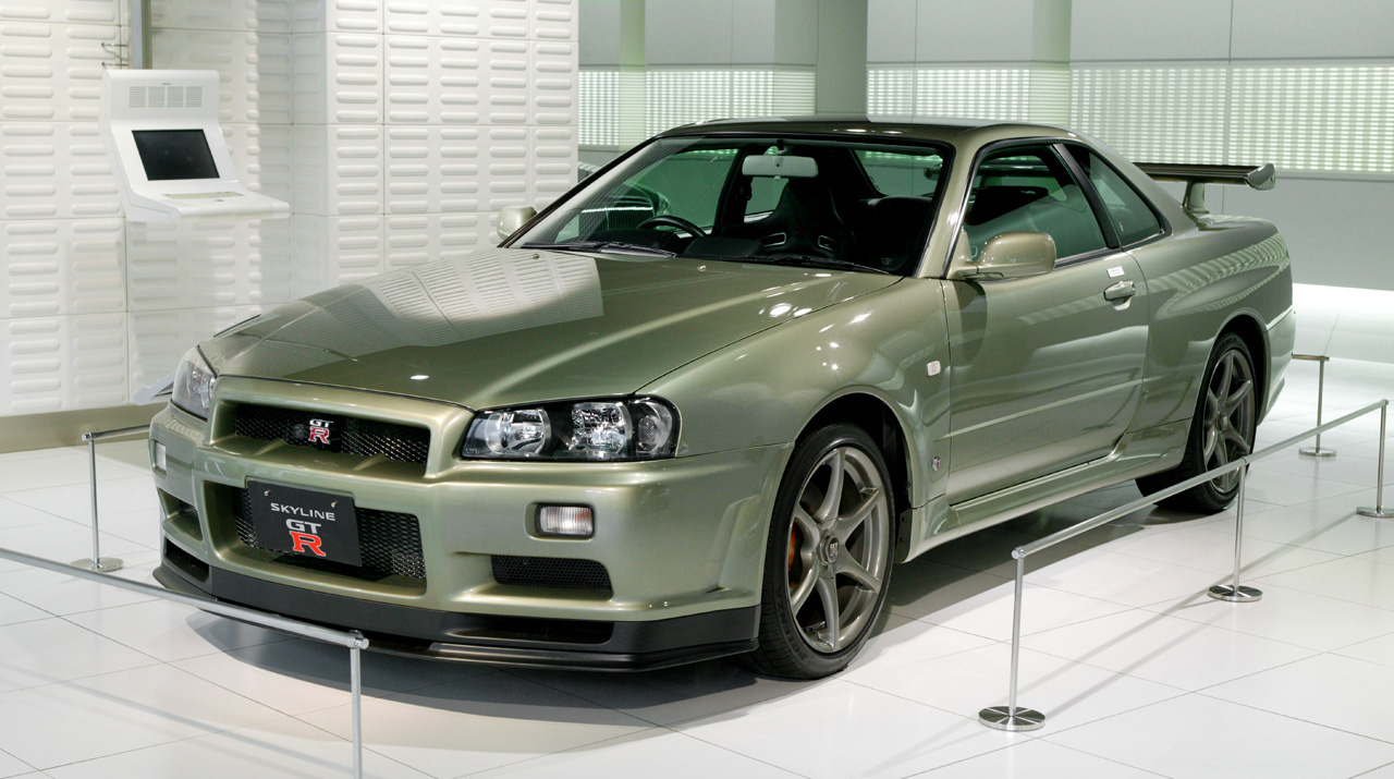 World Of Cars Nissan Skyline Gtr R34 Images