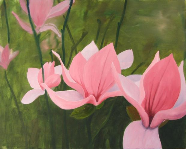 Beautiful flower paintings mobile wallpapers for Pretty flower paintings