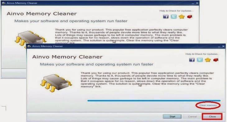 Ainnvo Memory Cleaner - Optimização RAM