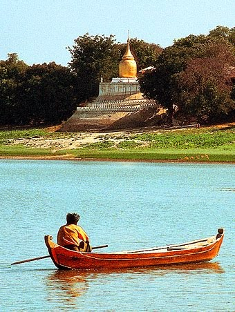 Bagan and Irrawaddy River