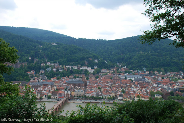 Philophenweg, Heidelberg Germany, Philosopher's Way