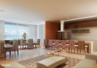 miramar residencial - espaço gourmet
