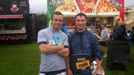 After the Great North Run 2013