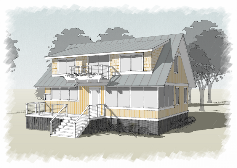 Murphy Residence - Small House Design title=