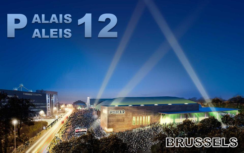 PALAIS 12 - BRUSSELS - La nouvelle salle bruxelloise de spectacles, concerts et événements divers qui peut accueillir de 3.000 à 15.000 spectateurs - Bruxelles-Bruxellons