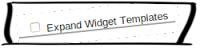 blogger expand widget templates box
