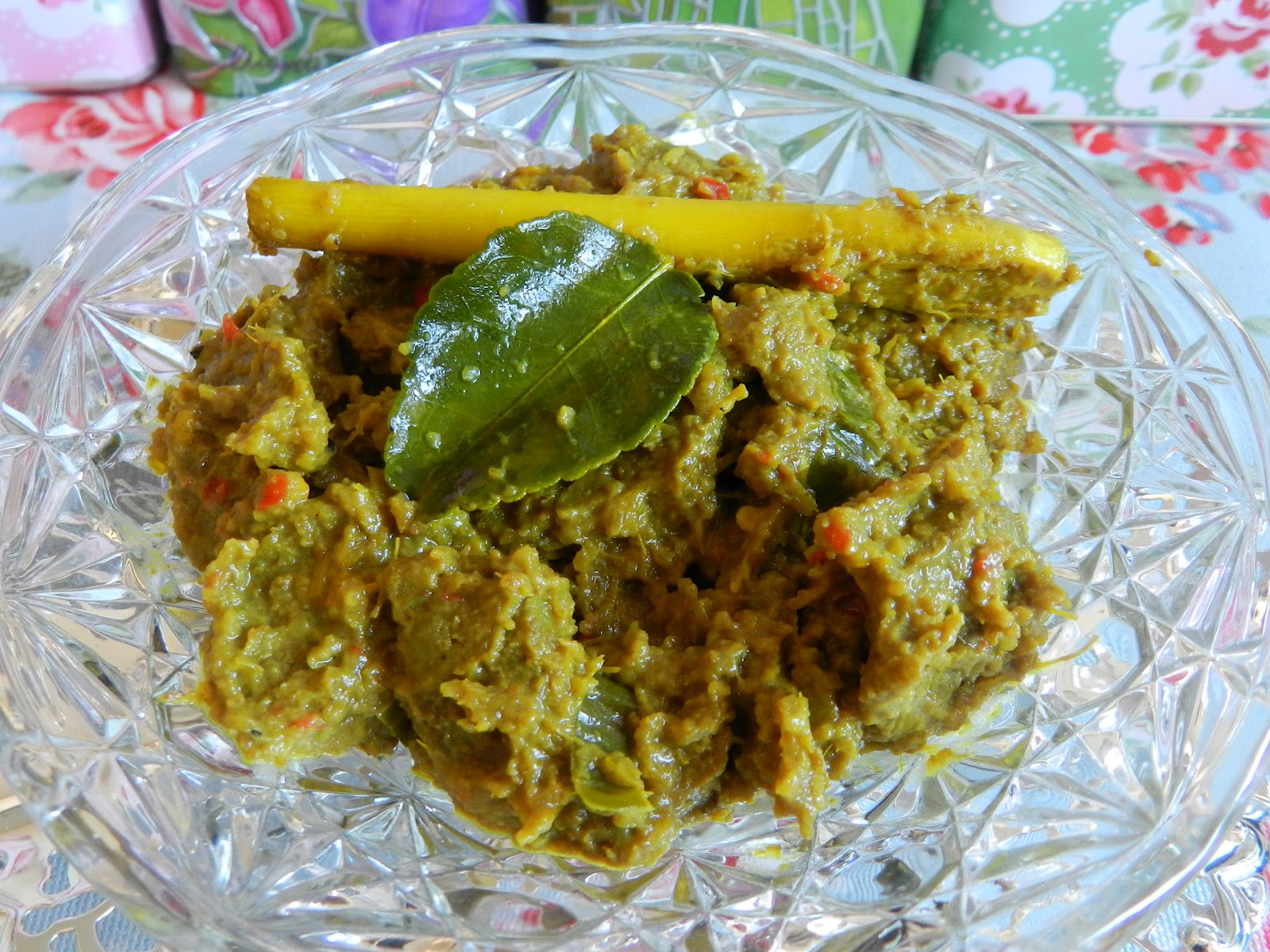 Taste of Love: Rendang Daging Cili Api