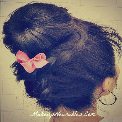 Hair Tutorial: Upside down braided bun | Double Lace braided sock bun for medium long hair | easy hairstyles updos