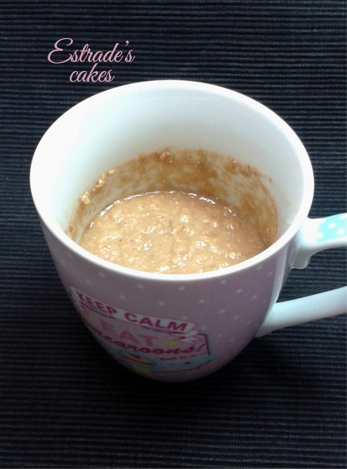 receta de mugcake de manzana y avena-2