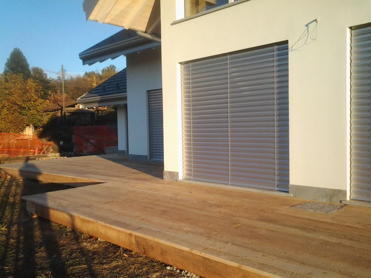 Marciapiedi Esterni Casa : Pavimento cemento esterno stampato per villa casa moderno laminato