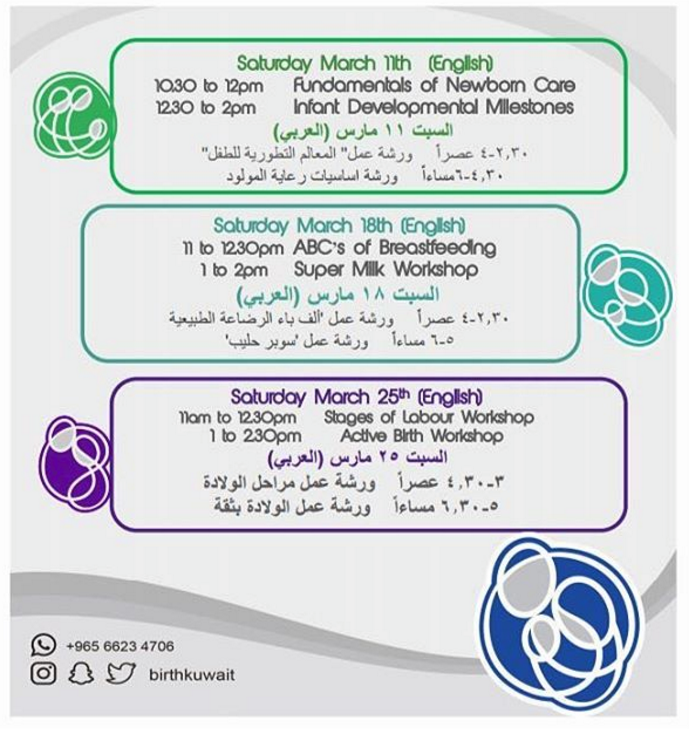 BirthKuwait Workshops