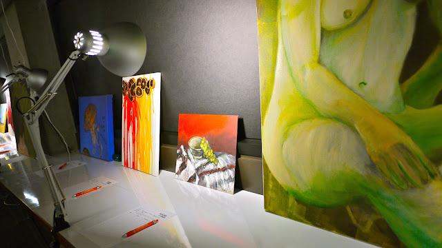 Langara College Art-fully Yours   Art + Design Auction