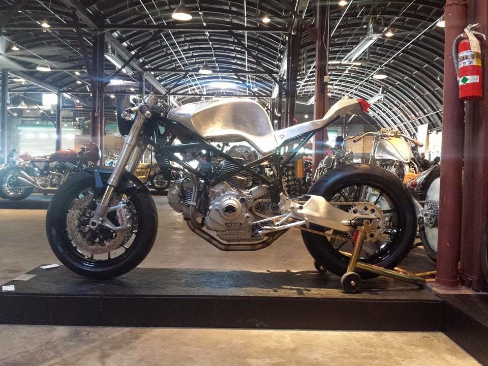 Atom Bomb Ducati 900SS - Return of the Cafe Racers