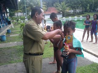 Juara 3 Renang 4 Gaya - Arisky Arta Dwi Maulana