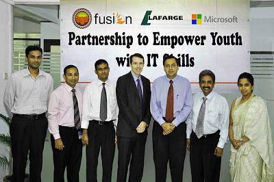 Lafarge Mahaweli Cement+Microsoft Sri Lanka