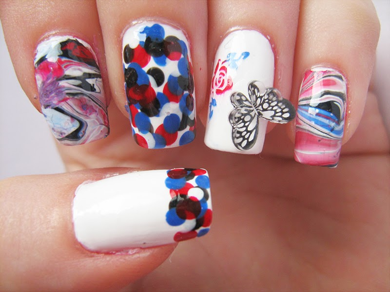 Skittlette Nails Matching Manicure Golden Rose 287 29 49 242 KKCenterHk
