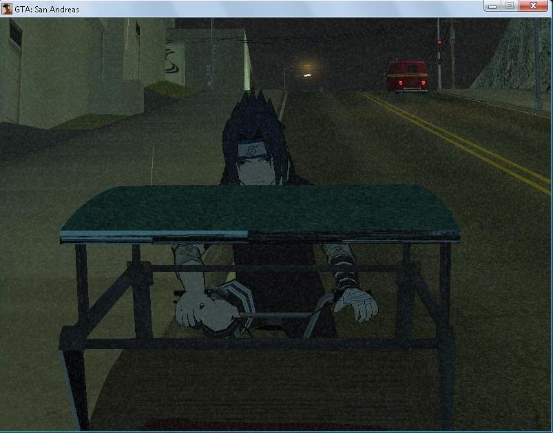 Ternyata Sasuke Pernah Jadi Tukang Becak Gan CEKIDOT