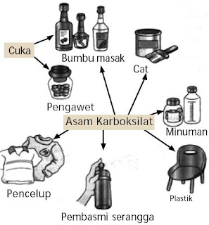 Kegunaan asam karboksilat
