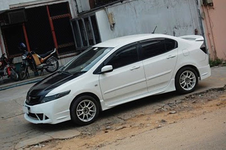 Most Reliable Cars: Modified Honda City White