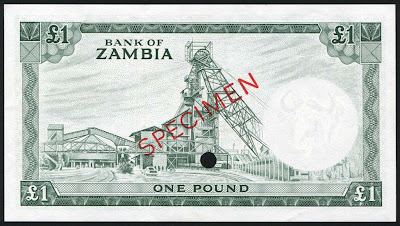 Zambia banknotes pound money currency pictures