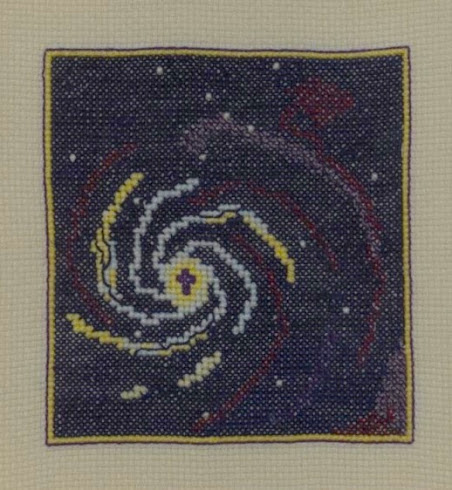 Galaxy 3 (Embroidery)