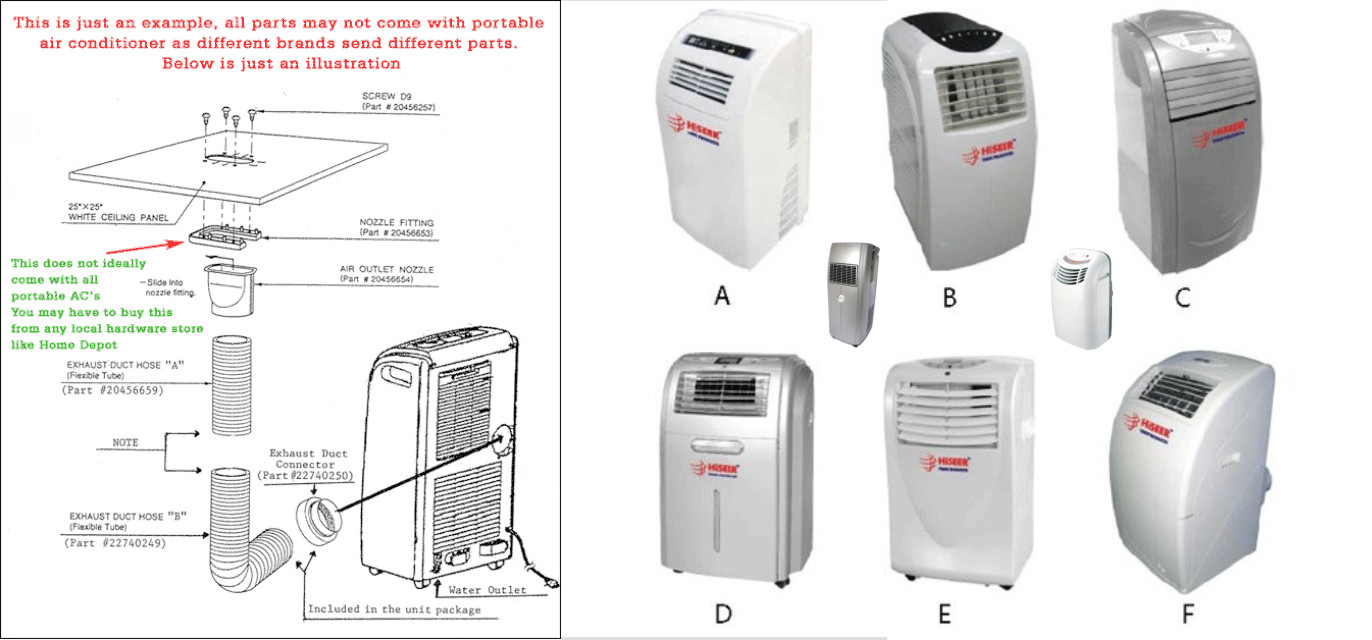 Auxiliary Devices Portable Air Conditioner