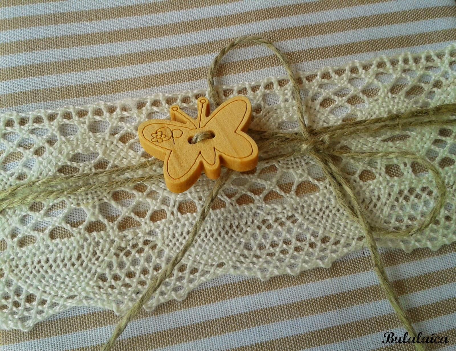 Recordatorios de comunión handmade
