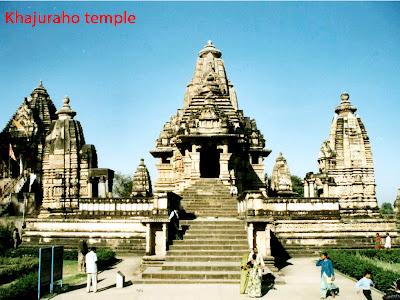 Khajuraho temple in Delhi