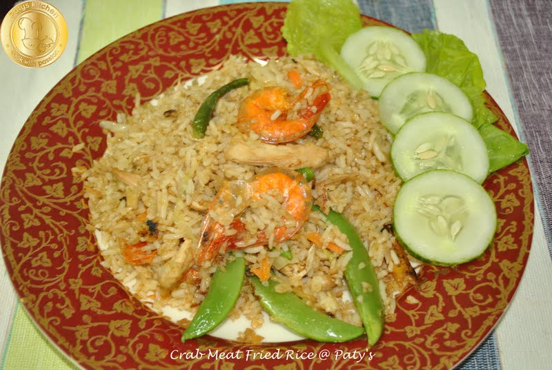 how to cook crab and rice