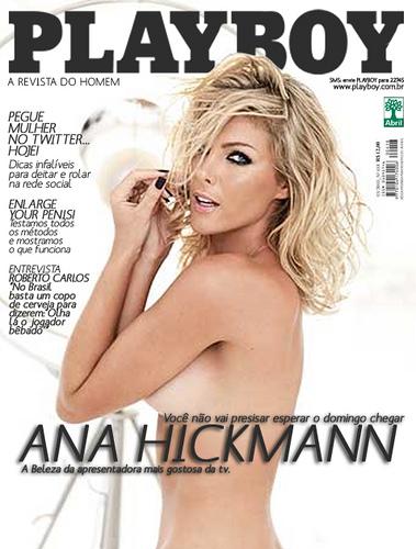 Ana Hickman Na Playboy Nua
