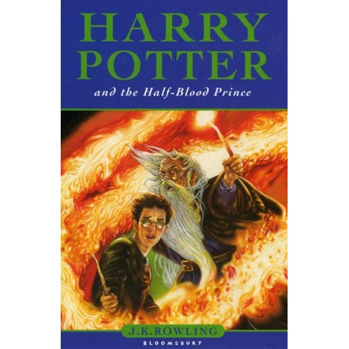 Harry Potter Book Cover Half Blood Prince ~ Kaitlyn in bookland judge a book by its cover harry