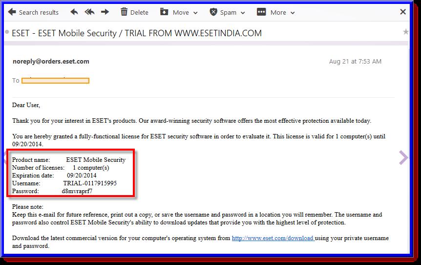 احصل على ترخيص نود 32 لمكافحة الفيروسات مجانا بطريقة شرعية من موقعة