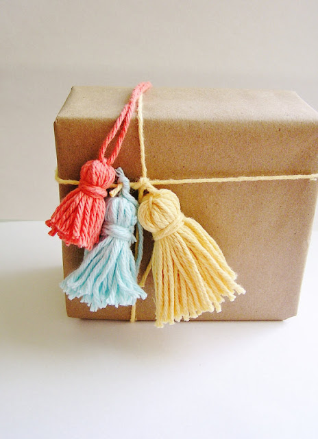 graduation craft ideas yarn tassel