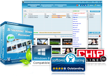 Apowersoft Streaming Video Recorder 4.8.4 Free Download
