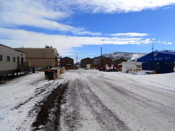 McMurdo Station is the main base for American research in Antarctica.