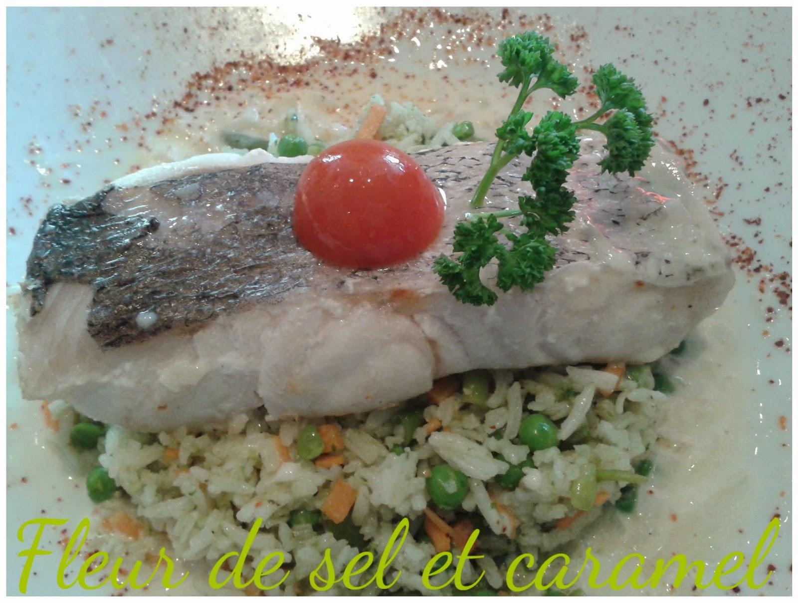 Quai ouest - Merlu et son riz aux petits légumes