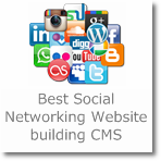 7 best CMS/script for building Social networking website