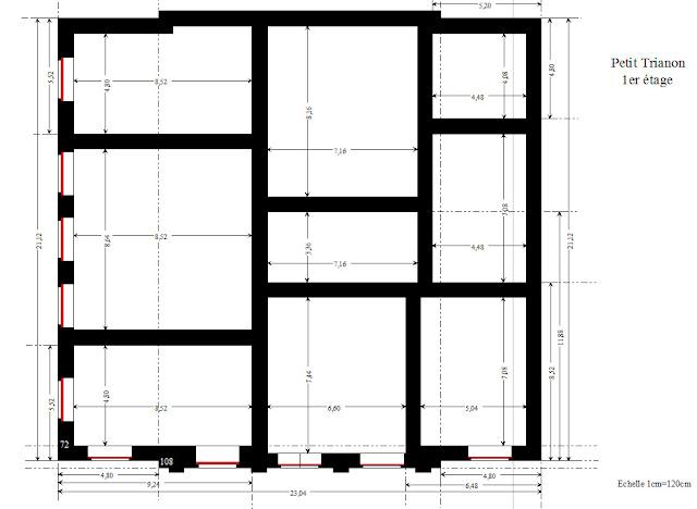 Trianon,Maquette,Miniature,Plan