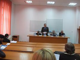 Aspecte din timpul susţinereii tezei d-lui Mihai-Bogdan Atanasiu, 24.III.2012...