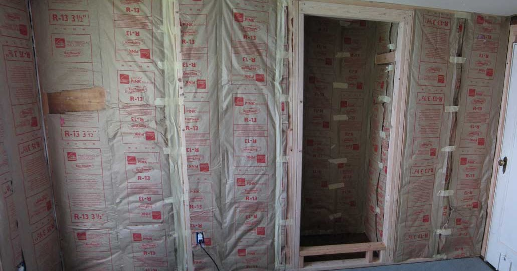The Rat Hole 2nd Bedroom Part 5 Insulation Walls