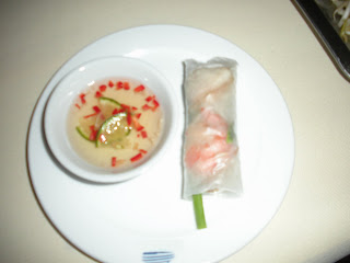 Fresh Vietnamese spring roll recipe
