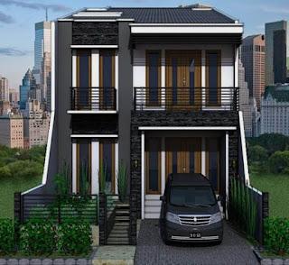 rumah minimalis 2 lantai type 70