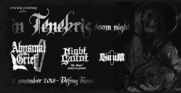 LIVE REPORT - ABYSMAL GRIEF/NIGHT GAUNT/SUUM