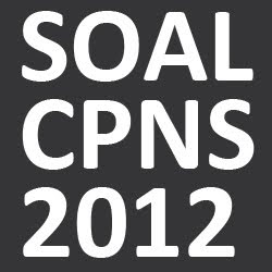 Download Contoh Soal CPNS BPPT 2012