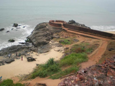Beach view from bekal fort
