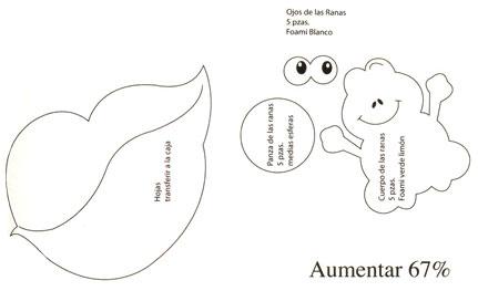 Como hacer una visera de fomi de rana - Imagui